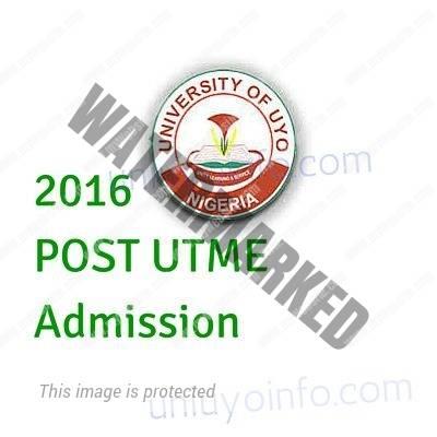2016 uniuyo post utme screening