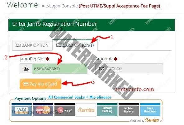 uniuyo-accpetance-fee-guide