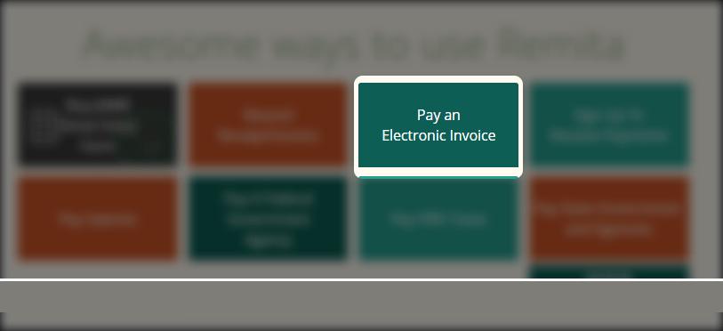 remita pay electronic invoice