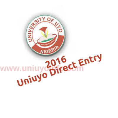 uniuyo direct entry screening 2016
