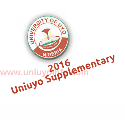 2016 uniuyo supplementary form