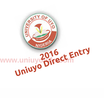 uniuyo direct entry screening 2016