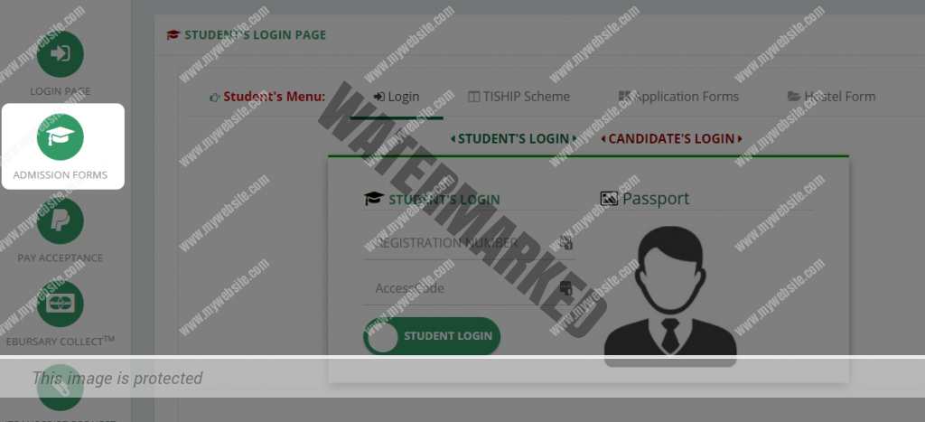 admission forms