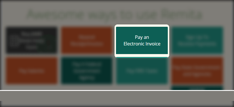 remita pay electronic invoice