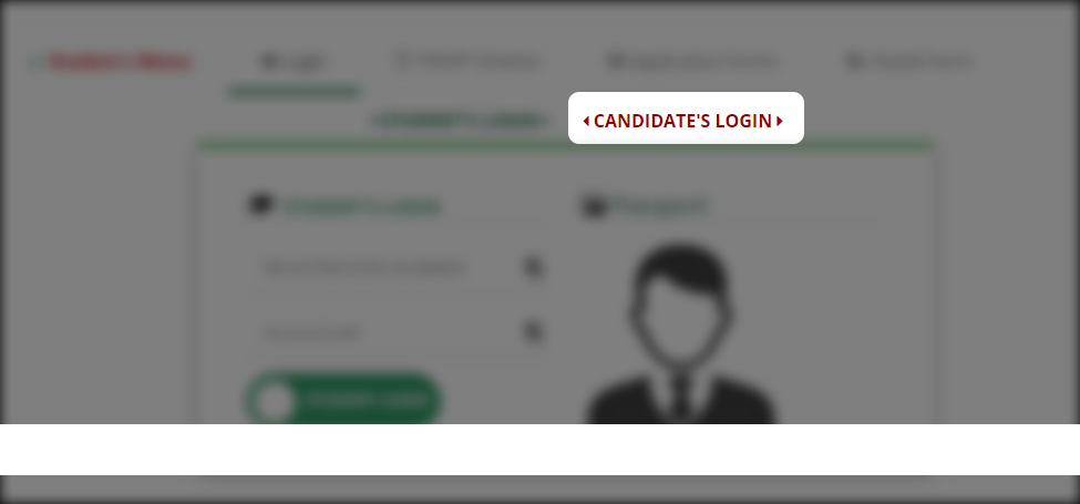 uniuyo post utme candidate login